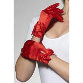 Short red Gloves