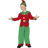 Unisex Kids elf costume