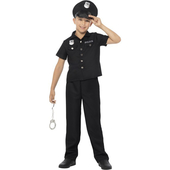 New York Cop Costume - Tween
