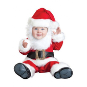Deluxe Baby Lil Santa Costume