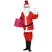 Santa Boy Costume - tween