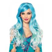 Mermaid Ombre Wig - Blue