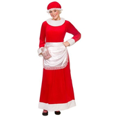 Deluxe Mrs Santa Claus - Adult