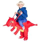 Inflatable dragon costume - Kids