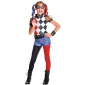 Deluxe Harley Quinn Costume - Kids