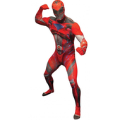 Deluxe Red Power Ranger Morphsuit