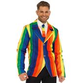 rainbow Blazer & tie