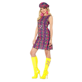 1960's Psychedelic CND Costume