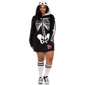 plus size cozy skeleton