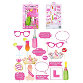 Hen Party Photo Props - 20 Pack
