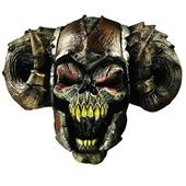 demon warrior latex mask