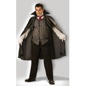 plus size midnight vampire costume
