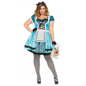 Looking Glass Alice Costume - Plus Size