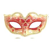 Glitter Eye Mask - Red