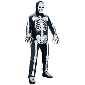 Skeleton adult costume