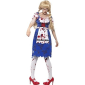zombie bavarian female costume
