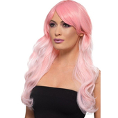 Fashion Ombre Wig - Pink