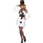 Miss Snowman Costume