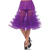 Knee Length Petticoat - Grape
