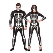 Adult Unisex Skeleton Jumpsuit
