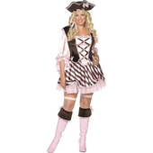 Pretty Pirate Costume - Plus Size