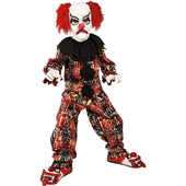 Scary Clown Costume - Kids