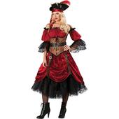 Swashbucklin' Scarlet Costume