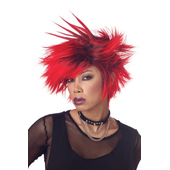Spike Wig - Red