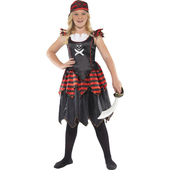 Gothic Pirate Costume - Kids