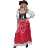 Ladies Pirate Wench Costume