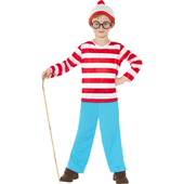 Kids Where's Wally Costume