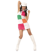Go Go Girl Debra Adult Costume