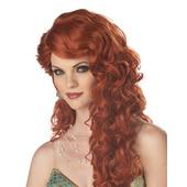Mermaid Wig - Auburn/Red