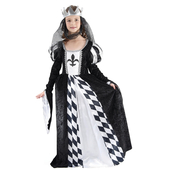 Kids Chess Queen Costume