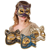 Venetian Cat Masks
