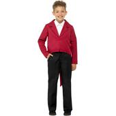 Tween Tailcoat - Red