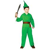 robin hood lost boy costume - kids