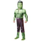 Avengers Deluxe Hulk Costume - Kids
