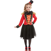 Twenn Girls Deluxe Ringmaster Costume