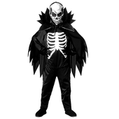 tween Skeleton Outfit