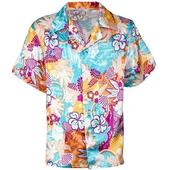 Satin Hawaiian Shirt