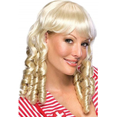 blonde baby doll wig
