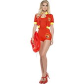Ladies Baywatch Costume