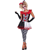 Carnival Jester Costume