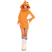 cozy goldfish costume