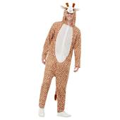 Giraffe Hooded Jumpsuit