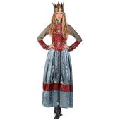 Medieval Queen Isabel Costume