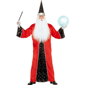 Red Wizard Costume
