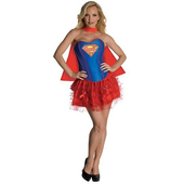 Supergirl Corset & Skirt
