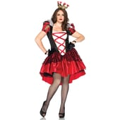 Royal Red Queen Plus Size